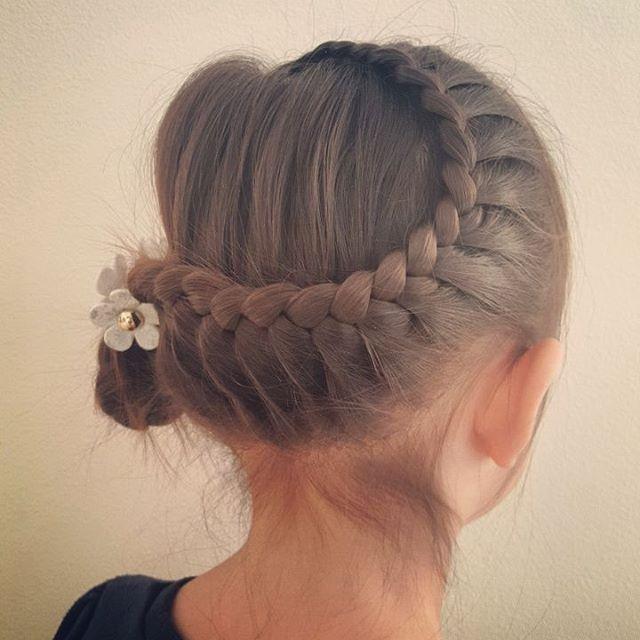 子どもも喜ぶ♫おしゃれ可愛い女の子のまとめ髪アレンジ , 元気ママ応援プロジェクト