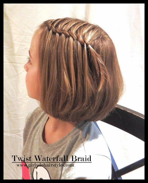 Girly Do Hairstyles By Jenn Twisted Waterfall Braid (4948)