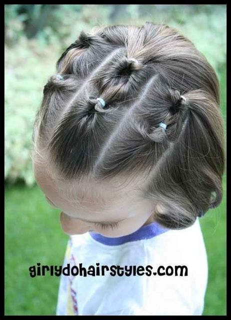 37 Creative Hairstyle Ideas For Little Girls (4950)
