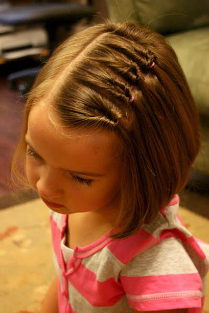 4 Simple Hairstyles For Kids With Short Hair (4951)