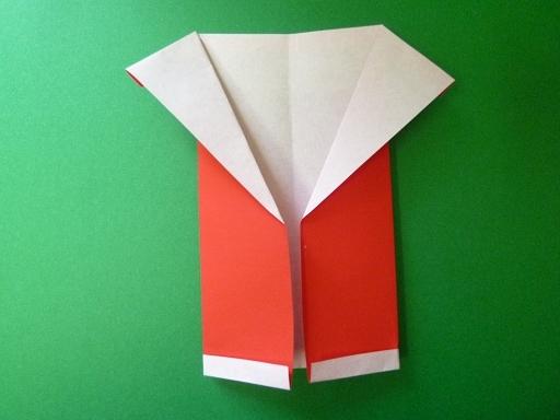 サンタ 折り紙