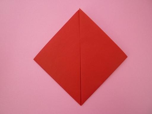 クリスマス 折り紙 折り紙ハートの作り方 : genki-mama.com