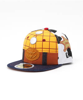 NEWERA×TOY STORY KIDS 59FIFTY CAP WOODY PRINT (196292)